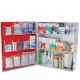 OSHA First Aid Kit 3 Shelf With Meds Labeled